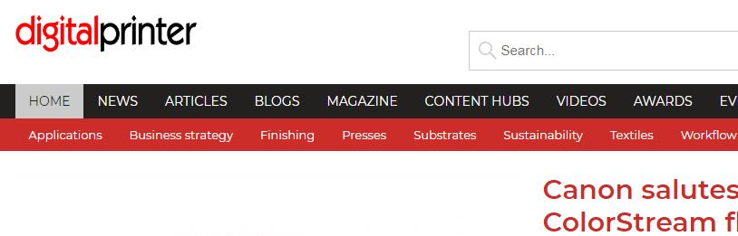 DigitalPrinter Website Header